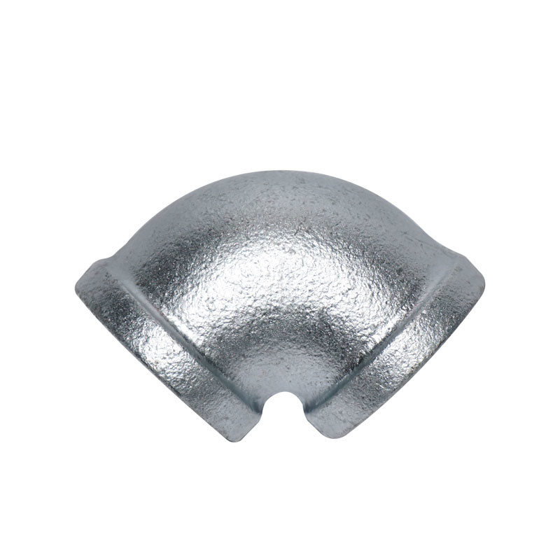 NPT Threaded Plumbing Malleable Iron 90 Elbow Pipe Fitting / Galvanized Pipe Elbows