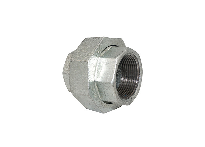 Electrical Galvanized Malleable Iron Unions Coupling Pipe Fitting Eco Friendly